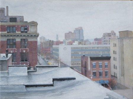 West Window Overcast by Bennett Vadnais