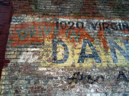 Danny's Auto Repair Ghost Sign in Indianapolis