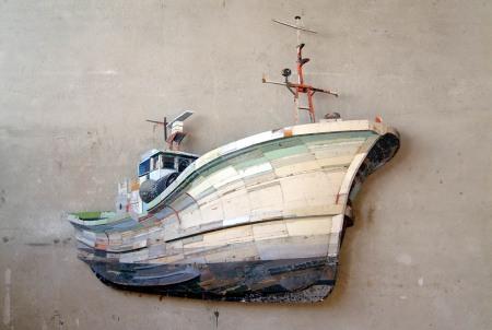 Fishing Trawler by Ron van der Ende