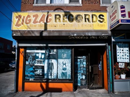 Zig Zag Records in Brooklyn