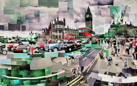 Westminster Bridge by Adrian Brannan