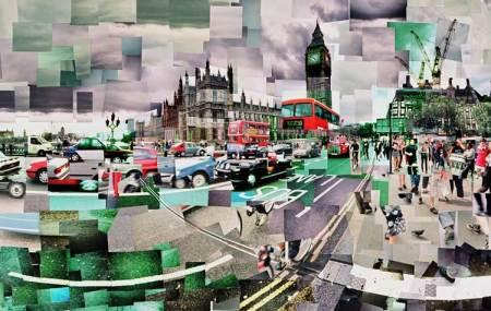Westminster Bridge by Adrian Brannan
