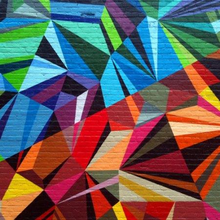 XYZ Axis Mural by Matt W. Moore