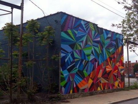 XYZ Axis Mural by Matt W. Moor