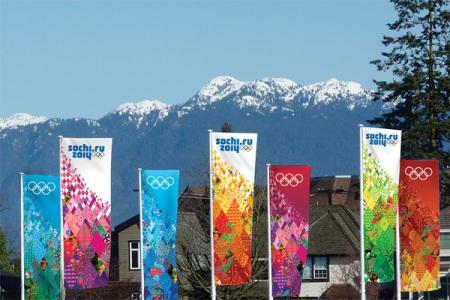 Sochi XXII Olympic Winter Games Identity