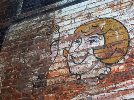 Elmer & Marty's Tavern Ghost Sign in Covington