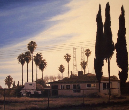 House with Semi-Truck by Danny Heller
