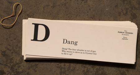 Talk Like a Texan Flash Cards by Public School