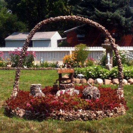 Hartman Rock Garden in Springfield, OH