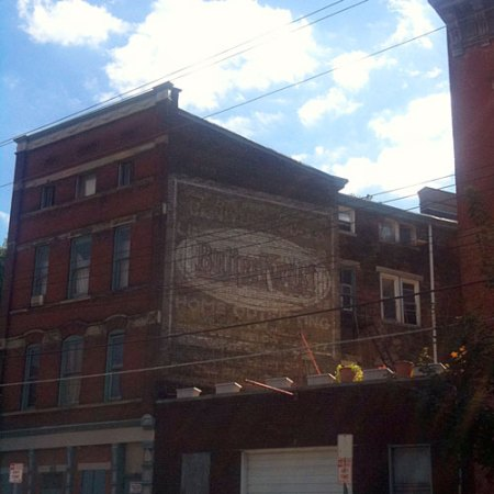 ButterKrust Ghost Sign in Over-the-Rhine