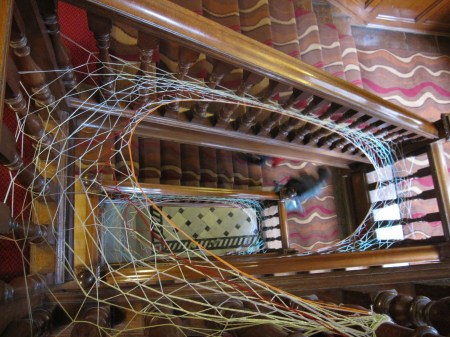Cobweb Installation by  Shane Waltener