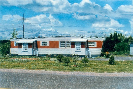 Mobile Home with Porches by John Salt