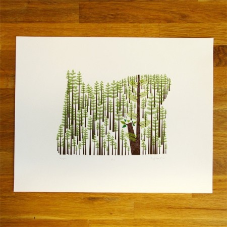 Oregon State Print by Amy Ruppel
