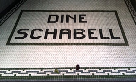 Dine Schabell Ghost Tile in Newport, KY