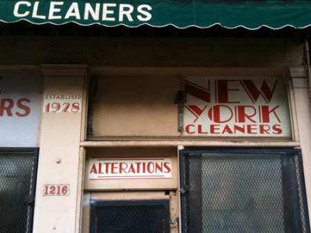 New York Cleaners Ghost Sign in Over-the-Rhine