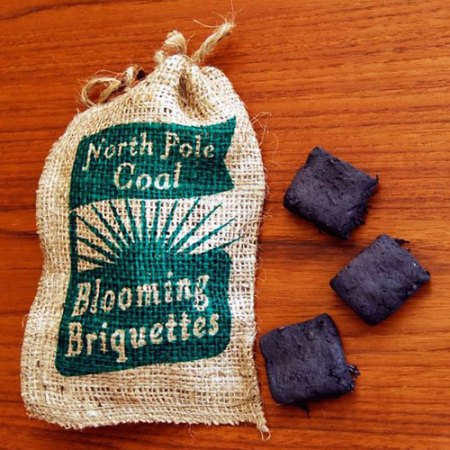 North Pole Coal: Blooming Briquettes by VisuaLingual