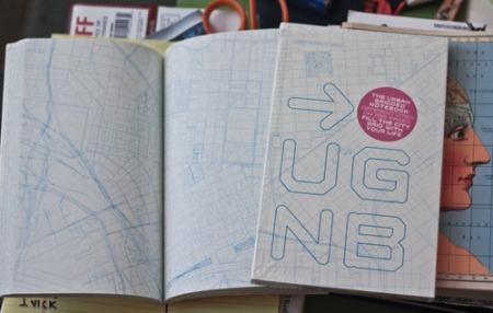 Urban Grid notebook by Aminimal Studio