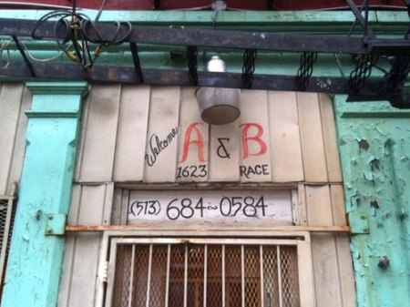 A&B Grocery Ghost Sign in Over-the-Rhine