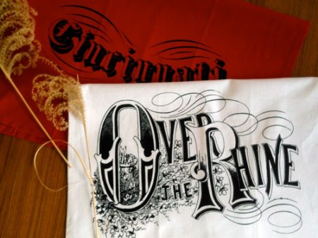 Cincinnati and Over-the-Rhine tea towels by VisuaLingual