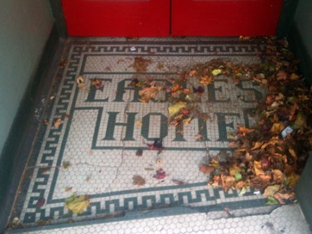 Eagles Home Ghost Tile in Asheville