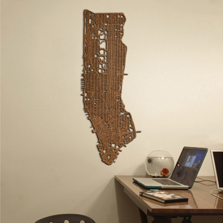 Manhattan corkboard by Aminimal Studio