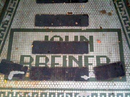John Brenner Ghost Tile in Over-the-Rhine