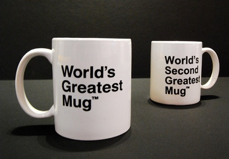 World's Greatest Mug set of two by MINE™