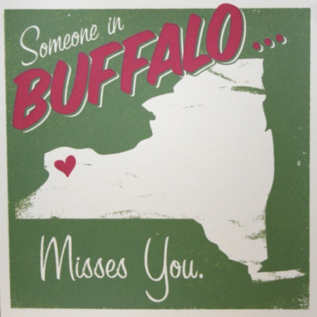 Buffalo Prints by Hero Design Studio
