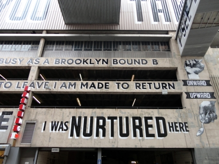 Love Letter to Brooklyn by Stephen Powers