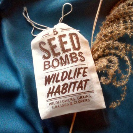 Wildlife Habitat Seed Bombs by VisuaLingual