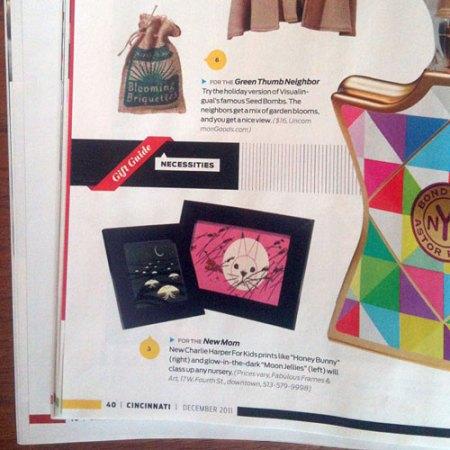 Blooming Briquettes in Cincinnati Magazine