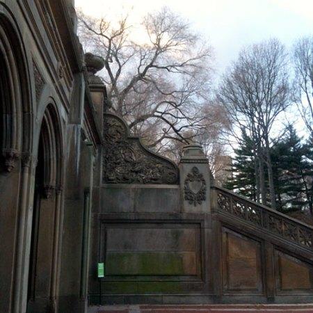 Bethesda Terrace Arcade in Central Park