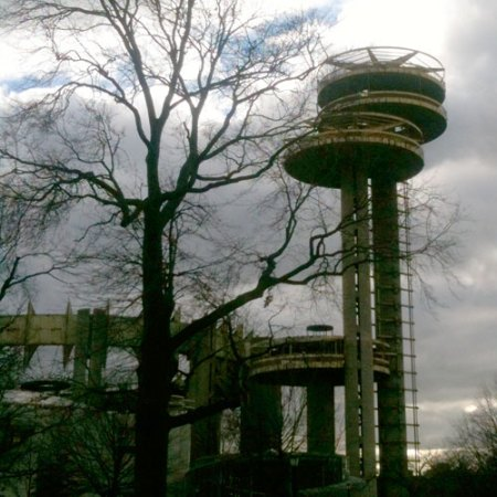 New York State Pavilion by Phillip Johnson