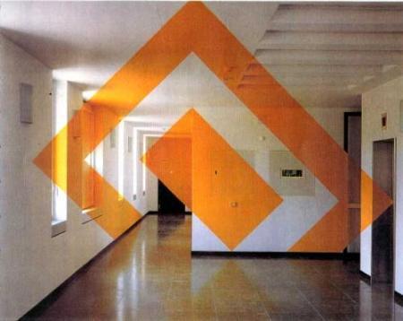 Trompe L'oeil Installation by Felice Varini