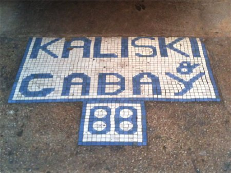 Kaliski & Cabay Ghost Tile in NYC