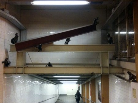Life Underground by Tom Otterness