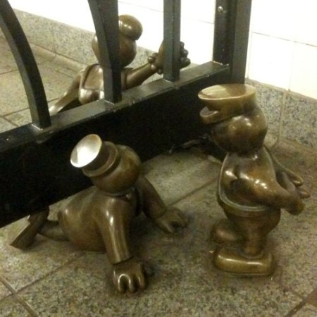 Life Underground by Tom Otterness