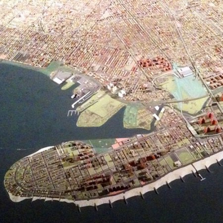 NYC Panorama at the Queens Museum of Art