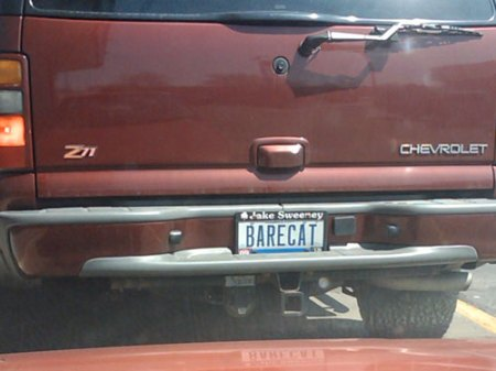 Field Guide to the Vanity License Plates of Southwestern Ohio: Part 2