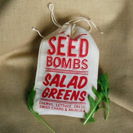 Salad Greens Seed Bombs by VisuaLingual