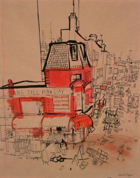 Petticoat Lane from Middlesex Street Estate by Lucinda Rogers