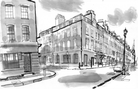 Fournier St. by Lucinda Rogers