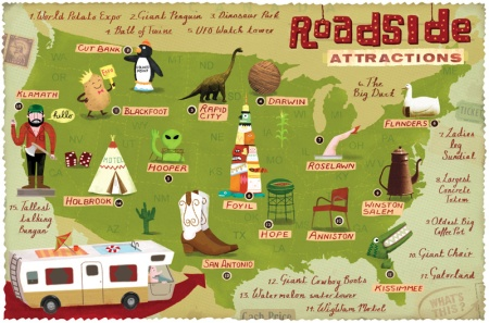Illustrated Map by Linzie Hunter