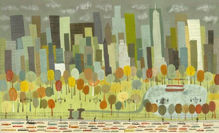 Central Park by Matte Stephens