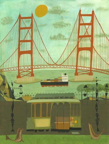 Golden Gate Bridge by Matte Stephens