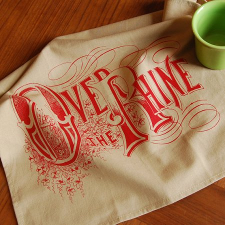 Over-the-Rhine tea towel by VisuaLingual