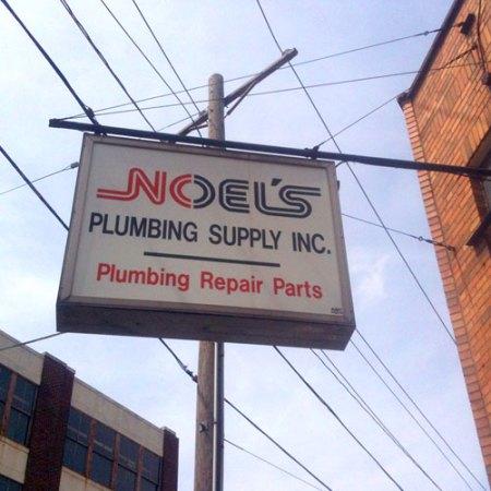 Noel's Plumbing Supply Inc. Ghost Sign in Over-the-Rhine