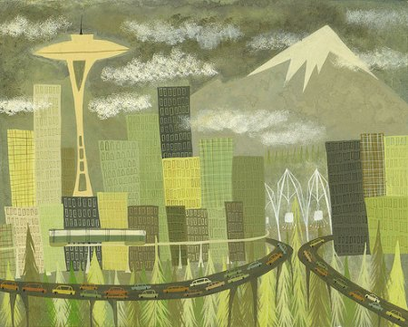 Seattle by Matte Stephens
