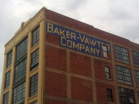 Baker-Vawter Ghost Sign in Kansas City, MO