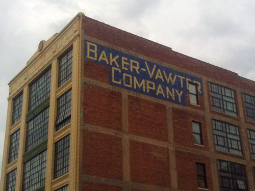 Baker-Vawter Ghost Sign in Kansas City, MO